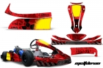 KG MK-14 Cadet - Kart Graphic Decal Kit for Faring/Pods/Spoiler