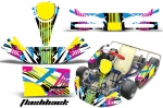 KG Kid/Baby - Kart Graphic Decal Kit for Faring/Pods/Spoiler