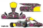 Tony Kart M4 Carene - Kart Graphic Decal Kit (Through 2016)