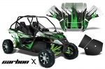 Arctic Cat Wildcat Graphic Kit, with Rock Guard Graphics - 2012-2016