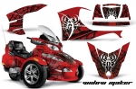 Can Am BRP (RTS) Spyder Graphic Kit 2010-2012