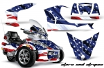Can Am BRP (RTS) Spyder Graphic Kit with Trim Kit 2010-2012