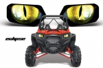 Head Light Eye Graphics for all Polaris RZR Models, 6 Designs to Choose! - FREE SHIPPING