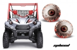 Head Light Eye Graphics for Kawasaki Teryx Models 2010-2014, 6 Designs to Choose! - FREE SHIPPING