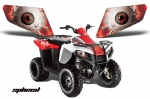 Head Light Eye Graphics for Polaris Trail Boss 330 2010-2013, 6 Designs to Choose! -  FREE SHIPPING
