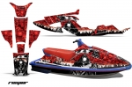 Yamaha Wave Raider Jet Ski Graphic Wrap Kit 1994-1996