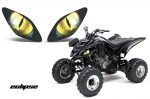 Head Light Eye Graphics for Yamaha Raptor 660, 6 Designs to Choose! - FREE SHIPPING
