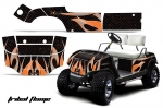Yamaha Golf Cart Graphic Kit 1995-2006  (many designs to choose from)