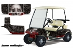 Club Car Golf Cart Graphic Kit 1983-2014 (many designs to choose from)