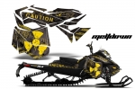 Ski Doo Rev XM Summit Sled Snowmobile Graphic Wrap Kit - 2013-2014