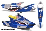 Yamaha Wave Blaster Jet Ski Graphic Wrap Kit 1993-1996