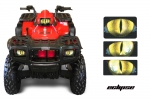Head Light Eye Graphics for 1996-2004 Polaris Sportsman 500, 3 Piece. 7 Designs to Choose! -  FREE SHIPPING