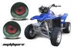 Head Light Eye Graphics for Yamaha Warrior 350, 7 Designs to Choose! - FREE SHIPPING