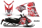 Ski Doo Rev XR Sled Snowmobile Graphics Wrap Kit 2013+