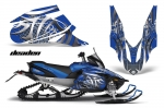 Yamaha Apex Sled Snowmobile Graphics Decal Kit 2006-2011