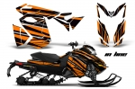Ski Doo Rev XS Sled Snowmobile Graphics Wrap Kit - 2013-2014