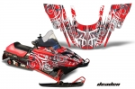 Polaris 700XC,800XCR,600 RMK, Touring Sled Snowmobile Graphics Decal Kit - 99-03