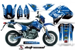 Suzuki DRZ400 SM Graphic Kit Limitied Edition - SoCal Supermoto