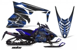 Yamaha Viper SR/SRT/RTX/SE Sled Snowmobile Graphics Decal Kit 2014-2016