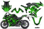 Kawasaki ZX1000 Ninja Sport Bike Graphic Kit (2010-2013)