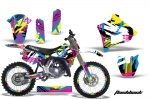 Yamaha YZ125 2 Stroke Motocross Graphic Kit - 1991-1992