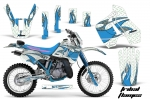 Kawasaki Motocross Dirt Bike Graphic Kit KDX200 - 1989-1994
