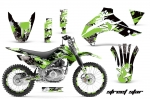 Kawasaki Motocross Dirt Bike Graphic Kit KLX140 - 2008-2013