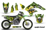 Kawasaki Enduro Dirt Bike Graphic Kit KLX450 - 2008-2013