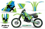 Kawasaki Motocross Dirt Bike Graphic Kit KX125 - 1983-1985