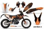KTM Adventurer 690 Supermoto/Enduro Bike Graphic Decal Kit - 2008-2015