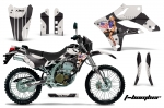 Kawasaki Motocross Dirt Bike Graphic Kit KLX250 - 2004-2007