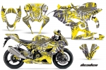 Suzuki GSXR 1000 Sport Bike Graphic Kit GSX R1000 (2005-2006)