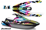 Yamaha Wave Runner 3 Jet Ski Graphic Wrap Kit 1991-1996