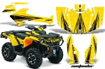 Can-Am Outlander 500/650 XT DPS SST G2 ATV Quad Graphic Kit - (2013-2016)