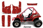 Honda Odyssy 350 4x4 UTV Graphic Kit 86-87 (many designs to choose from)