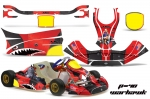 KG Freeline Birel - Kart Graphic Decal Kit