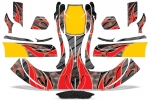 Build your own Kart Graphics - Select Bumpers - Faring - Pods