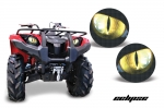Head Light Eye Graphics for Yamaha Grizzly 660/450/400/350/125 Many Designs to Choose! - FREE SHIPPING