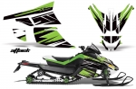 Arctic Cat Z1 Turbo Sled Snowmobile Wrap Graphic Kit - 2006-2012