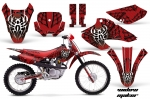 Honda XR80-XR100 Motocross Graphic Kit 2001-2003 (all designs available)