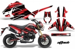 Honda Grom 125 Motorcycle Graphic Kit 2013-2016