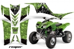 Kawasaki KFX 700 ATV Quad Graphic Kit