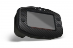 Mychron Digital Tach Kart Graphic - Black Carbon Fiber