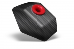 Mini Roc Air Filter Kart Graphic - Black Carbon Fiber