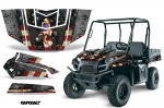 Polaris Ranger EV Electric UTV Graphic Kit 2009-2015