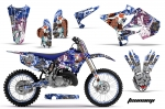 Yamaha YZ 125/250 Dirt Bike Graphic Kit (2002-2015) - Fits UFO Plastic Only!