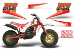 "Yamaha BW200 ""Big Wheel"" OEM Replica Graphic Kit - 1986"