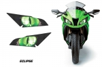 Head Light Eye Graphics for 2011-2014  Kawasaki Ninja ZX 10R, Many Designs to Choose from!
