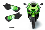 Head Light Eye Graphics for 2012-2014  Kawasaki Ninja ZX 14R, Many Designs to Choose from!