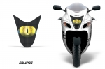 Head Light Eye Graphics for 2008-2014 Suzuki Hayabusa 1300, Many Designs to Choose from!